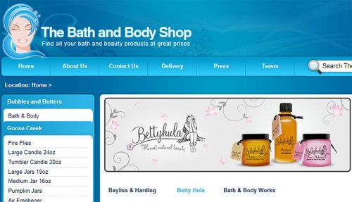 Bath & Body Shop - UK