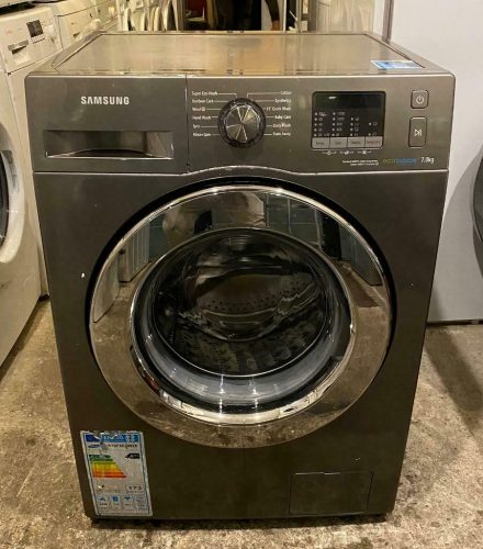 7Kg Samsung Eco Bubble Silver Washing Machine with Free Delivery