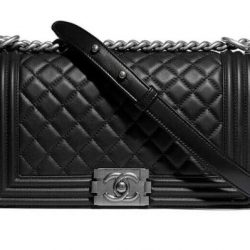 Real leather -Chanel Boy- handbag for sale only £150